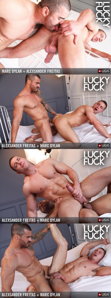 Alexsander Freitas Marc Dylan Muscle Bottom Gets Fucked in the ass
