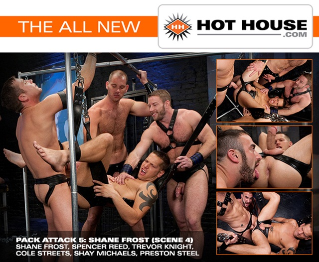hothouse Pack Attack Shane Frost Spencer Reed Trevor Knight Cole Streets Shay Michaels and Preston Steel