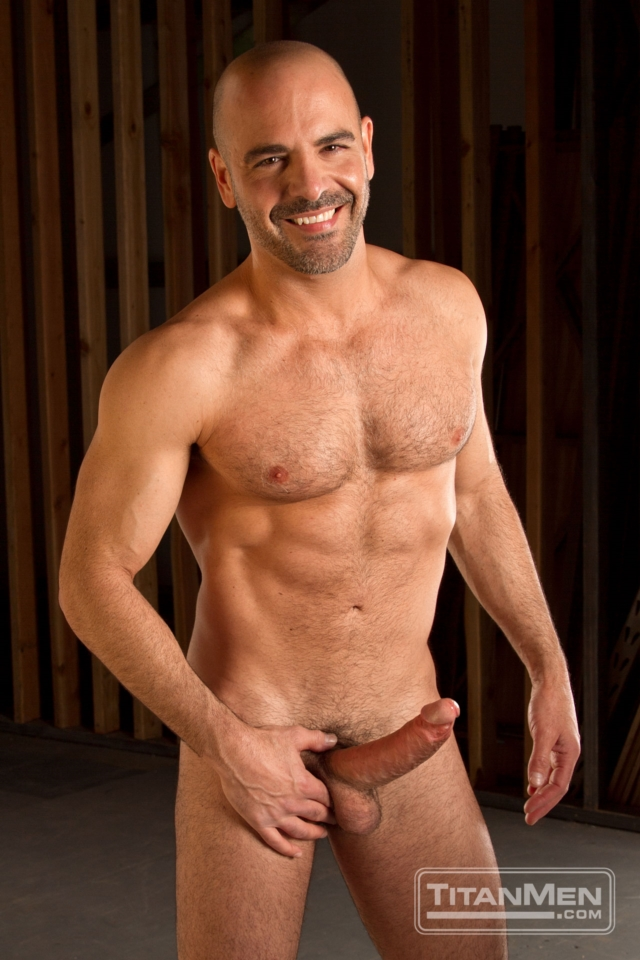 Adam Russo and Kieron Ryan Titan Men gay porn stars rough older men anal sex muscle hairy guys muscled hunks 02 pics gallery tube video photo - Adam Russo and Kieron Ryan