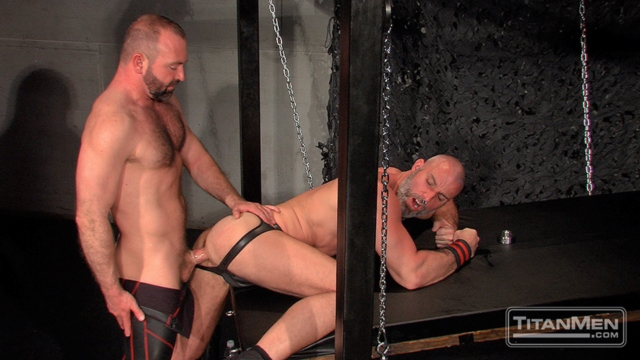 Josh West and Thor Larsson Titan Men gay porn stars rough older men anal sex muscle hairy guys muscled hunks 02 gallery video photo - Josh West and Thor Larsson