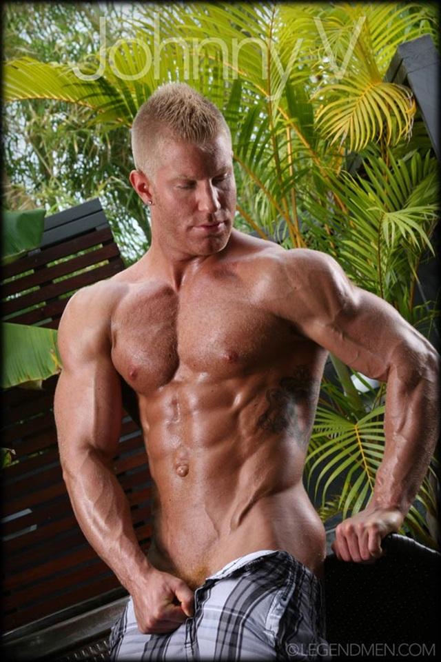 Johnny V Legend Men Gay Porn Stars Muscle Men naked bodybuilder nude bodybuilders big muscle huge cock 002 gallery video photo - Johnny V
