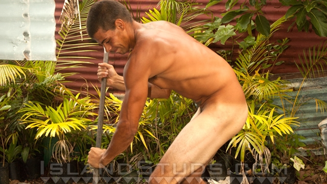Island-Studs-Malu-huge-9-nine-inch-uncut-black-Hawaiian-cock-naked-busting-big-cumload-outdoors-001-male-tube-red-tube-gallery-photo