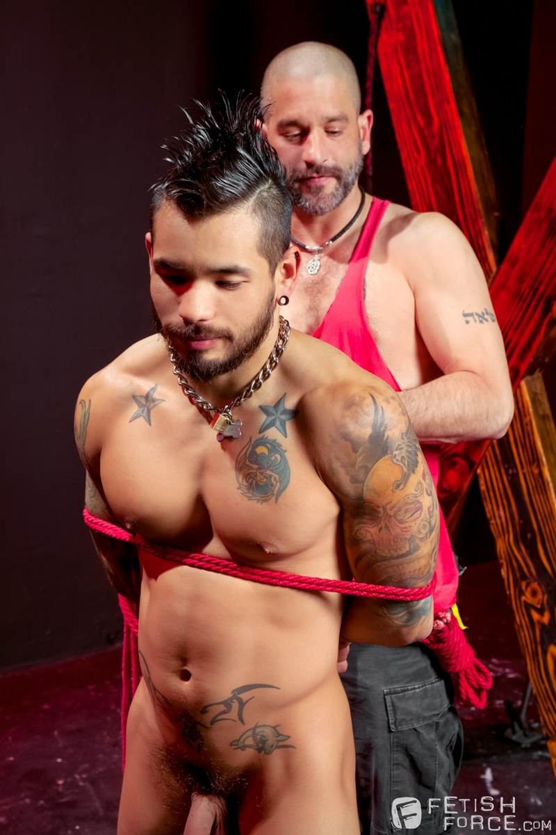 FetishForce BDSM Tony Buff Draven Torres muscles pecs kiss strokes erection foreskin male nipples hard muscle orgasm cock 002 tube download torrent gallery sexpics photo - Tony Buff and Draven Torres