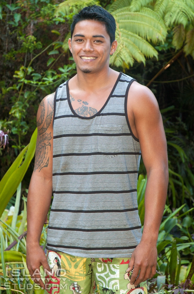 IslandStuds Keoni sexy 20 year old hairless bubble butt ass hole jerking rock hard Hawaiian dick cumshot naked young boy 002 tube download torrent gallery sexpics photo - Keoni