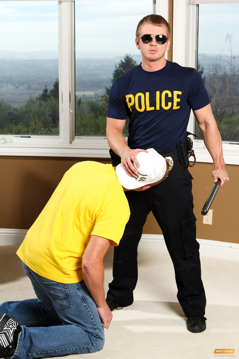 NextDoorWorld Connor Chesney James Huntsman police officer sexy hunk masturbate large cocks naked guys cop 004 tube download torrent gallery sexpics photo - Cesar Xes strips naked pissing outdoors then jerking his big uncut dick