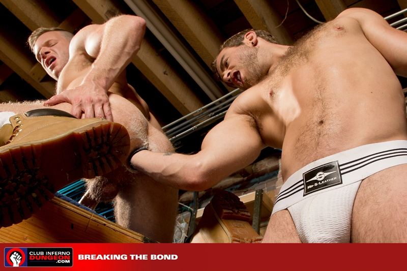 ClubInfernoDungeon Brian Bonds Shawn Wolfe fisting piggy sex gloved fist sphincter wrist prostate fuck hole 009 tube download torrent gallery sexpics photo - Sexy hairy hunk Jack Andy's hot bare asshole raw fucked by bearded Alex Tikas's huge uncut dick