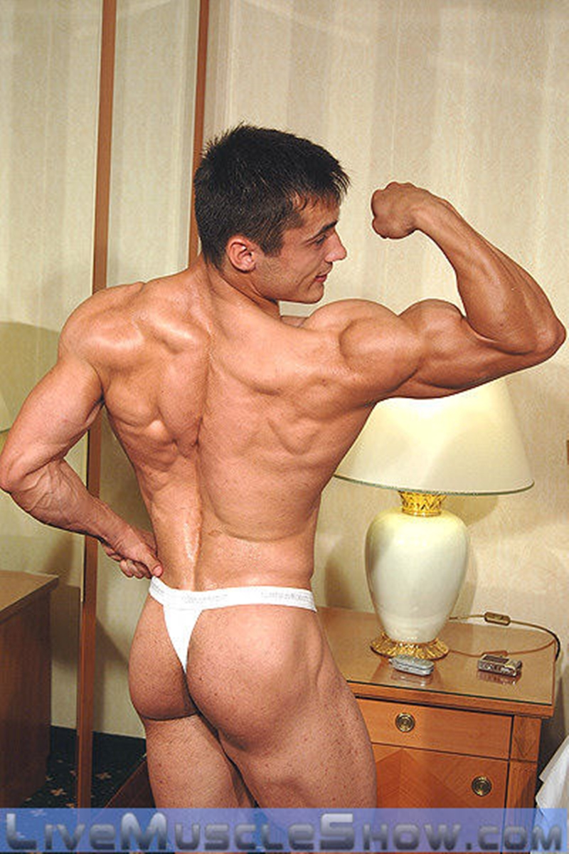 LiveMuscleShow Axel Agabo ripped six pack abs muscled body lean muscle mass dirty talk nude bodybuilder masculine man 010 tube download torrent gallery sexpics photo - Hot ripped muscle dude Manuel Rios's hot asshole bareback fucked by sexy stud Rocco Alfieri
