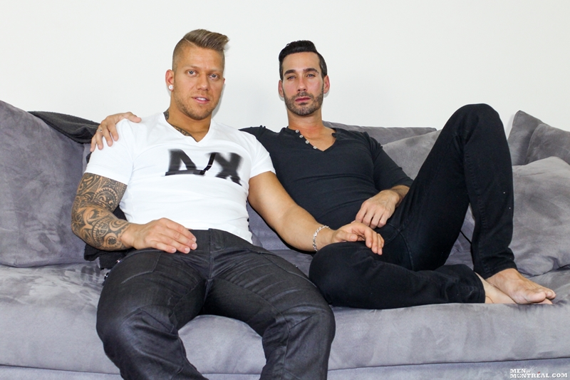 MenofMontreal tattoo muscle hunk big cock naked men Alexy Tyler Mam Steel monster cock inked bad boy top man 002 tube video gay porn gallery sexpics photo - Ripped young studs Justin Saradon and Sven Basquiat sucking big uncut dicks stroking out a huge cumload