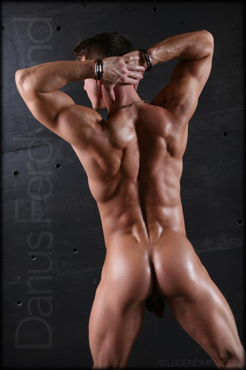 Nude Guy Cock muscle naked bodybuilder darius ferdynand jerking uncut cock