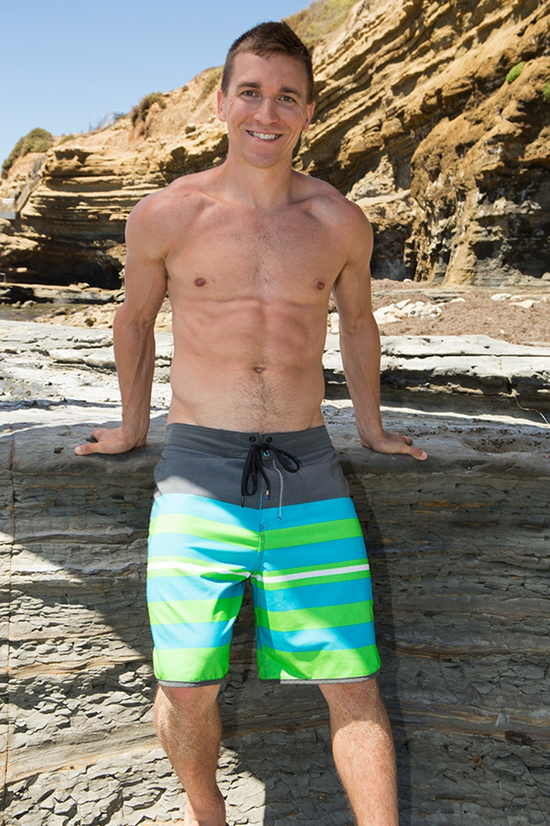 SeanCody Ripped young muscle pup Elliot strips sexy muscled body thick hard erect dick wanks orgasm huge cum load spurts cum six pack abs 005 gay porn video porno nude movies pics porn star sex photo - Elliot jerks his cock with a long slow pumping action