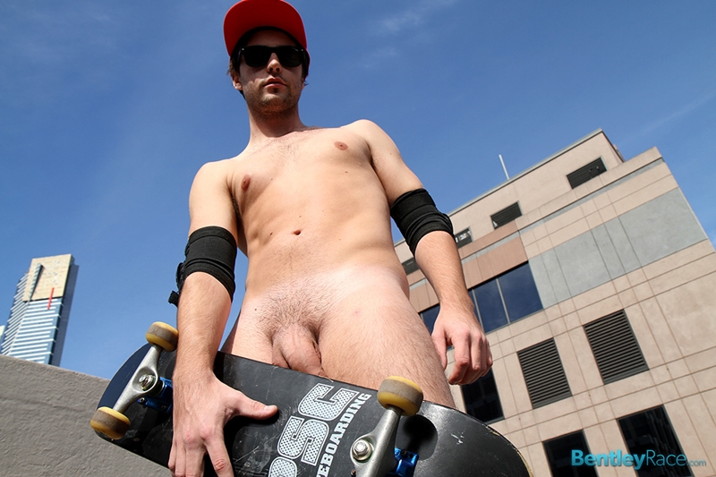 BentleyRace sexy guys 20 year old student Scott Tyler naked boy skateboarder boarder thick uncut cock solo video young stud 003 gay porn video porno nude movies pics porn star sex photo - 20 year old student skateboarder Scott Tyler jerks his thick uncut dick
