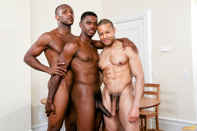 Ebony gay men fucking