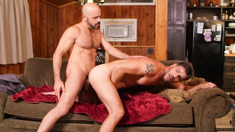 IconMale naked muscle men kiss tattoo Adam Russo Tony Salerno huge dick licks rims hairy butt hole fucking muscular jock ass 11 gay porn star sex video gallery photo - Adam Russo fucks Tony Salerno's muscular jock ass