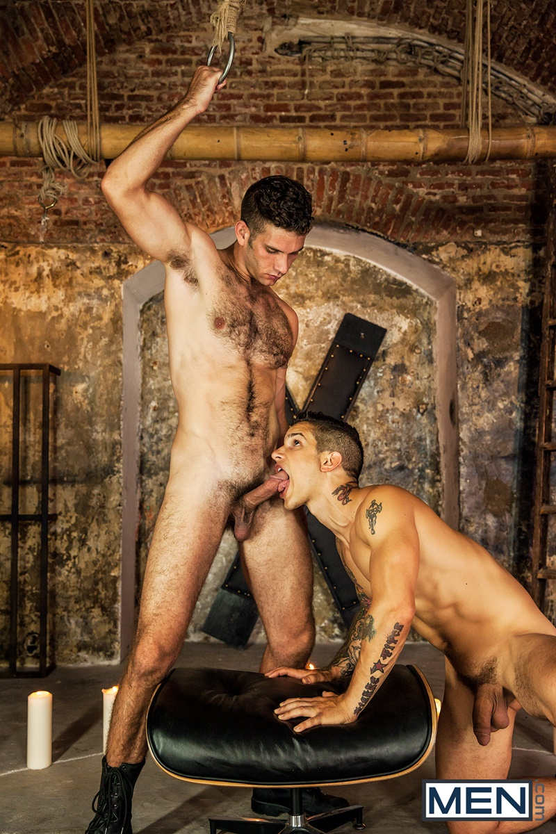 Men com naked sexy tattooed men Pierre Fitch Jimmy Fanz massive fat cock deep throat fucking bubble butt ass hairy chest hunk 13 gay porn star tube sex video torrent photo - Jimmy Fanz rides Pierre Fitch's big dick