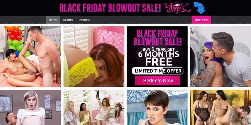 Trans Angels Black Friday Cyber Monday Holiday Discount Deals 001 gay porn pics - Holiday Discounts