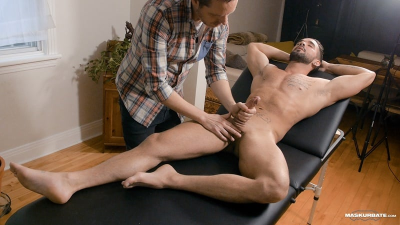 Maskurbate gay porn big muscle cock massage happy ending naked men sex pics Pascal Zack Lemec 001 gallery video photo - Pascal worships Zack Lemec's gorgeous ripped body as he jerks out a huge long lasting cumshot