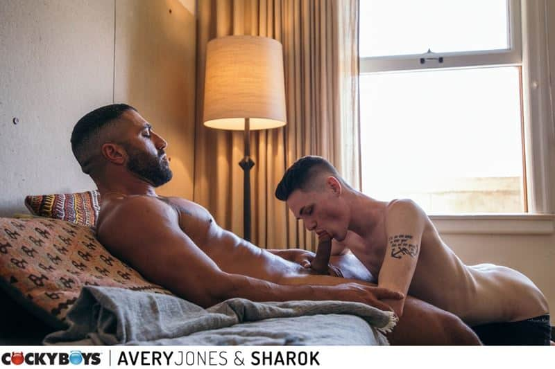 Sexy young buck Avery Jones hot bubble butt raw fucked muscled hunk Sharok huge thick dick 001 gay porn pics - Sexy young buck Avery Jones's hot bubble butt raw fucked by muscled hunk Sharok's huge thick dick