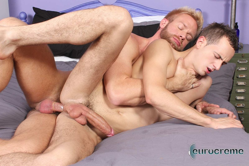 Eurocreme sexy young naked men Christopher Daniels mouth sucking Luke Desmond 9 inch dick uncut bubble butt asshole anal rimming 014 gay porn sex gallery pics video photo - Christopher Daniels gets his mouth around Luke Desmond's 9 inch dick