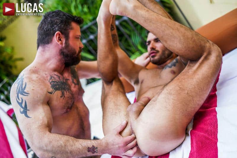 Hot daddy Sergeant Miles bare fucks younger hottie Pol Prince bubble ass 11 gay porn pics - Hot daddy Sergeant Miles's bare fucks younger hottie Pol Prince's bubble ass