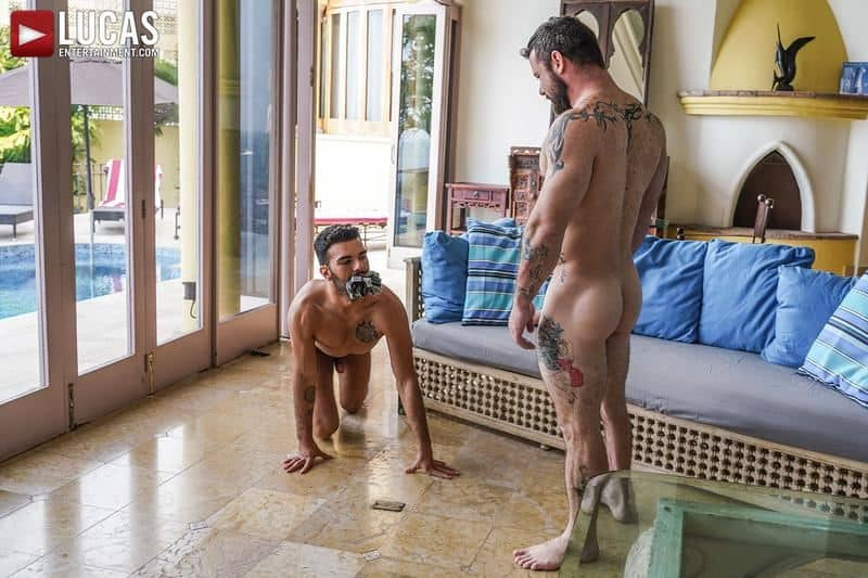 Hot daddy Sergeant Miles bare fucks younger hottie Pol Prince bubble ass 12 gay porn pics - Hot daddy Sergeant Miles's bare fucks younger hottie Pol Prince's bubble ass