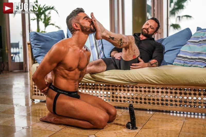 Muscled older stud Sergeant Miles huge raw dick dominates ripped younger dude Valentin Amour hot hole 10 gay porn pics - Muscled older stud Sergeant Miles's huge raw dick dominates ripped younger dude Valentin Amour' hot hole