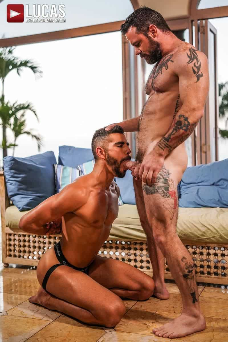 Muscled older stud Sergeant Miles huge raw dick dominates ripped younger dude Valentin Amour hot hole 11 gay porn pics - Muscled older stud Sergeant Miles's huge raw dick dominates ripped younger dude Valentin Amour' hot hole