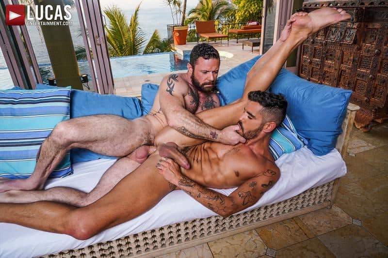 Muscled older stud Sergeant Miles huge raw dick dominates ripped younger dude Valentin Amour hot hole 19 gay porn pics - Muscled older stud Sergeant Miles's huge raw dick dominates ripped younger dude Valentin Amour' hot hole