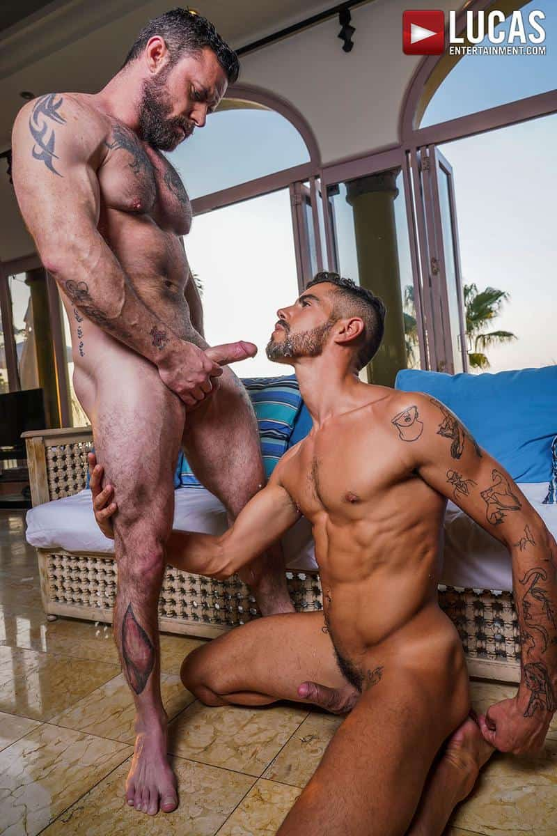 Muscled older stud Sergeant Miles huge raw dick dominates ripped younger dude Valentin Amour hot hole 24 gay porn pics - Muscled older stud Sergeant Miles's huge raw dick dominates ripped younger dude Valentin Amour' hot hole