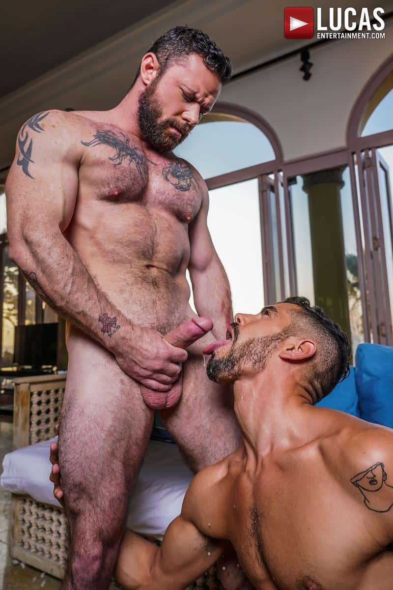 Muscled older stud Sergeant Miles huge raw dick dominates ripped younger dude Valentin Amour hot hole 25 gay porn pics - Muscled older stud Sergeant Miles's huge raw dick dominates ripped younger dude Valentin Amour' hot hole