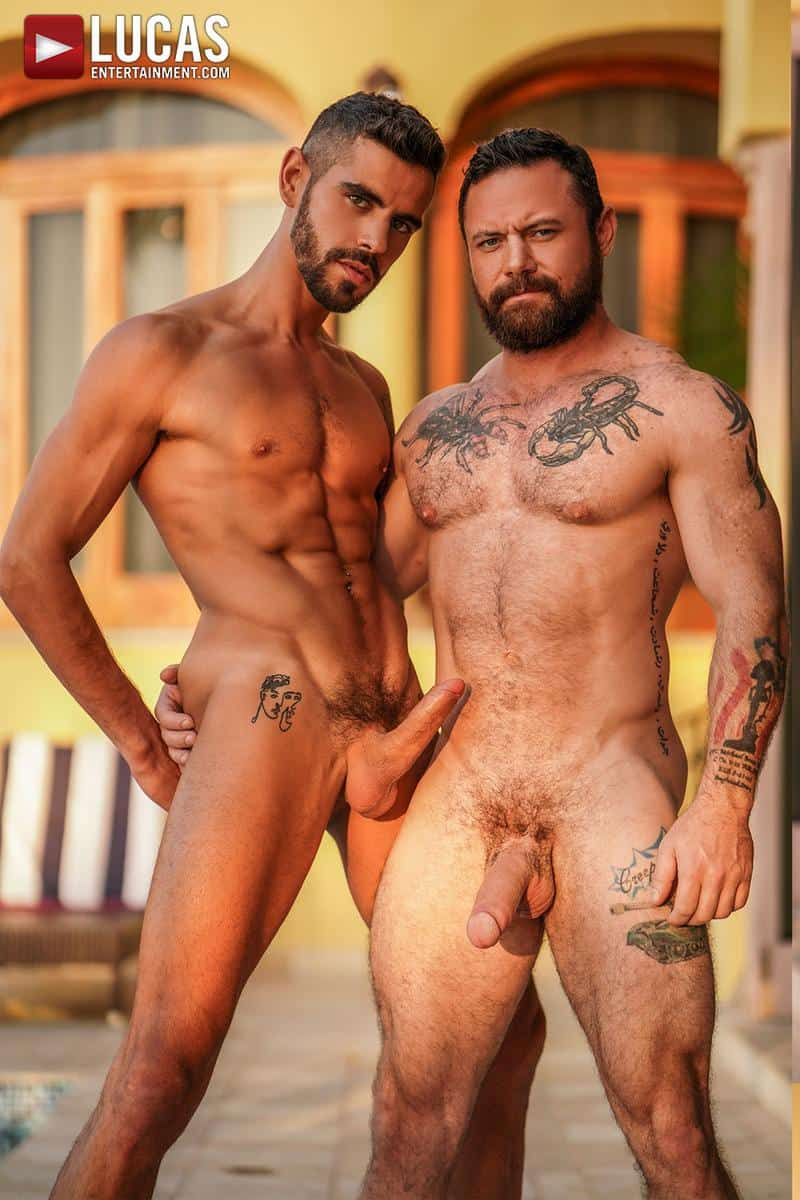 Muscled older stud Sergeant Miles huge raw dick dominates ripped younger dude Valentin Amour hot hole 4 gay porn pics - Muscled older stud Sergeant Miles's huge raw dick dominates ripped younger dude Valentin Amour' hot hole