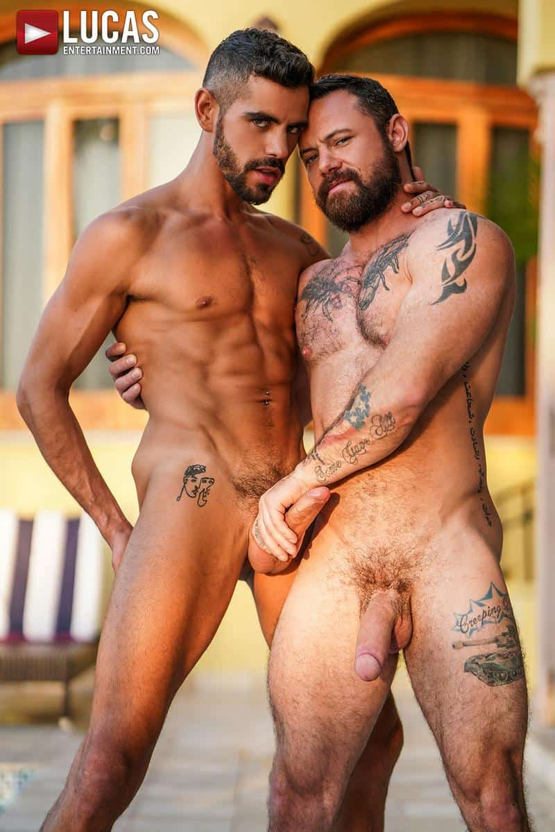 Muscled older stud Sergeant Miles huge raw dick dominates ripped younger dude Valentin Amour hot hole 5 gay porn pics - Muscled older stud Sergeant Miles's huge raw dick dominates ripped younger dude Valentin Amour' hot hole