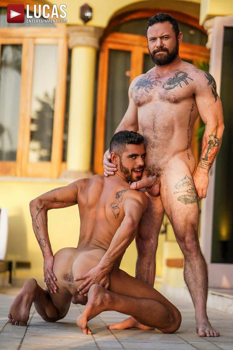Muscled older stud Sergeant Miles huge raw dick dominates ripped younger dude Valentin Amour hot hole 6 gay porn pics - Muscled older stud Sergeant Miles's huge raw dick dominates ripped younger dude Valentin Amour' hot hole