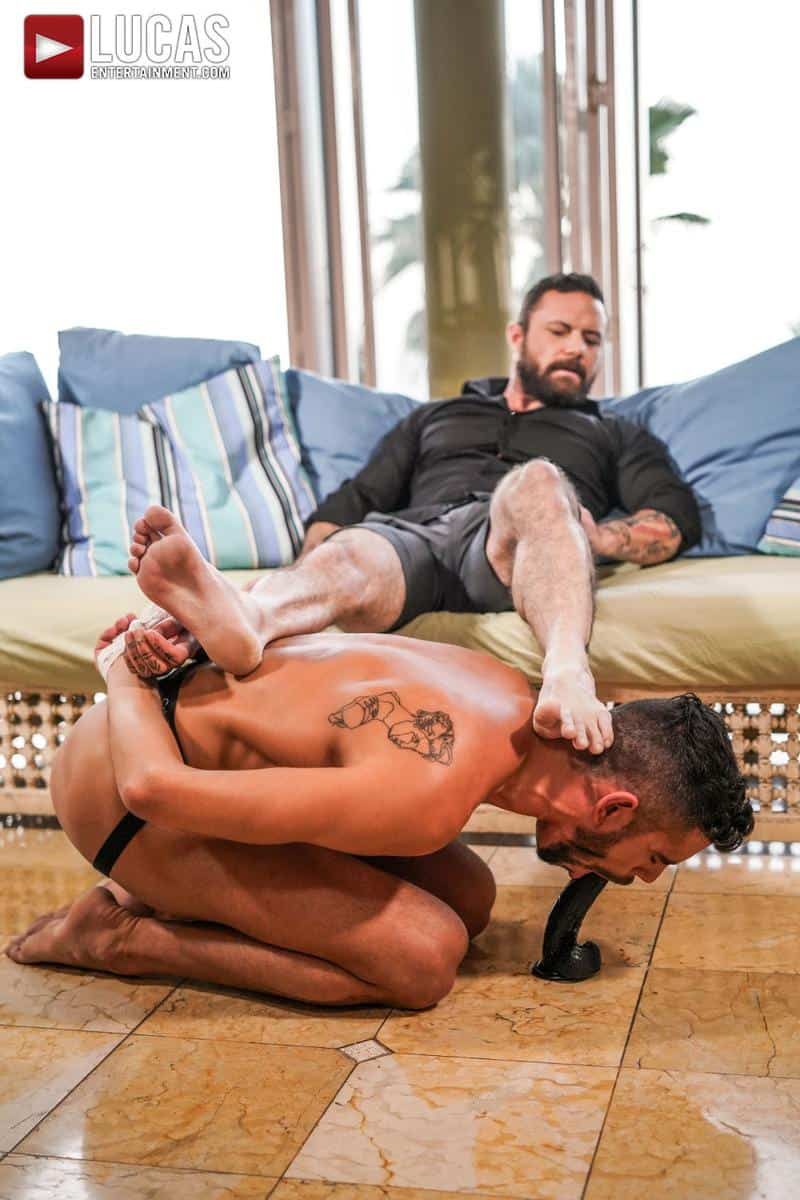 Muscled older stud Sergeant Miles huge raw dick dominates ripped younger dude Valentin Amour hot hole 7 gay porn pics - Muscled older stud Sergeant Miles's huge raw dick dominates ripped younger dude Valentin Amour' hot hole