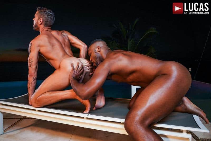 Sexy bottom stud Valentin Amour bare ass raw fucked Andre Donovan big black cock 15 gay porn pics - Sexy bottom stud Valentin Amour's bare ass raw fucked by Andre Donovan's big black cock