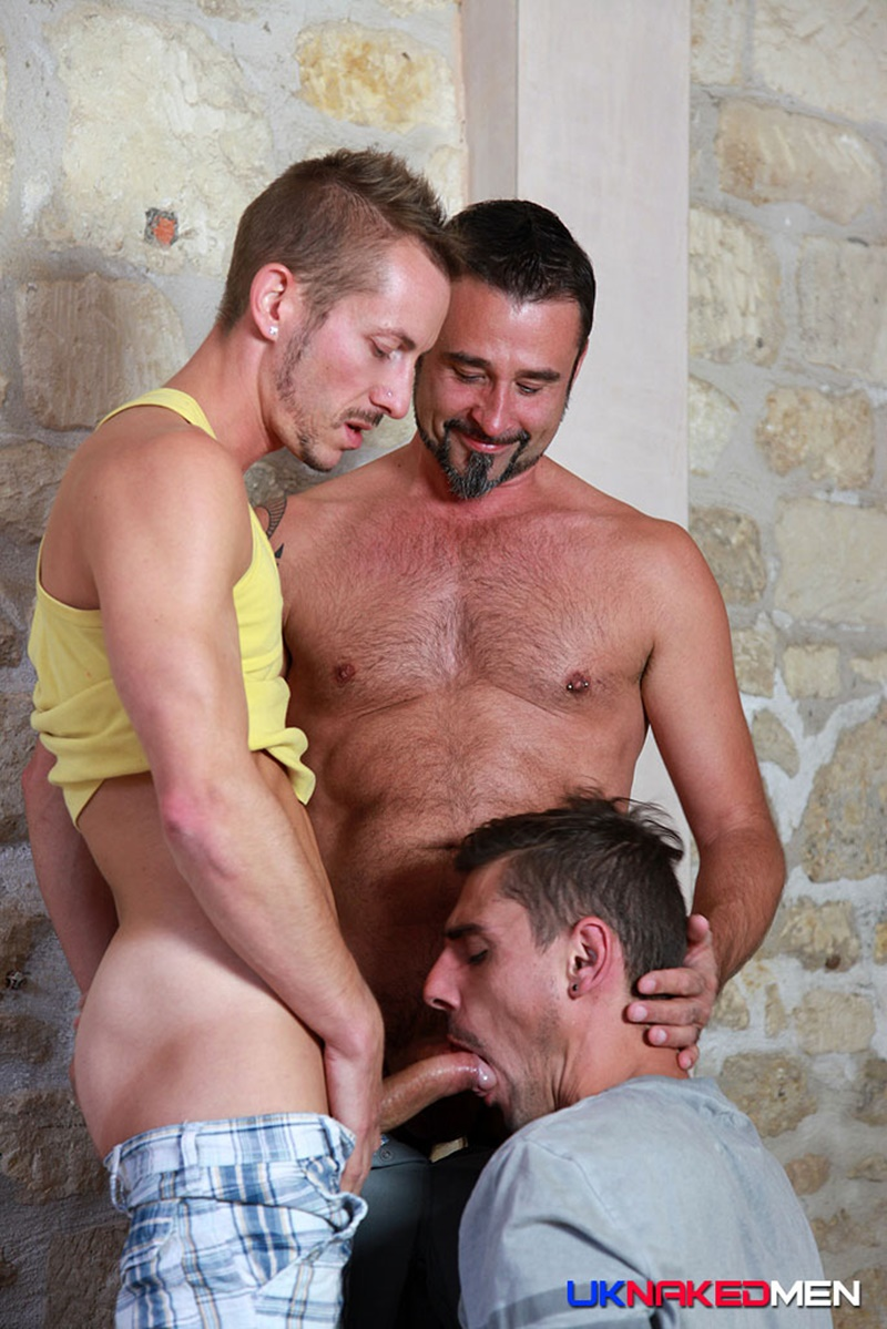 UKNakedMen Threesome top guys Nick Spears Iago Torres horny Nils Angelson ass hole huge uncut cocks fuck suck anal rimming spit roasting 012 gay porn tube star gallery video photo - Hardcore butt fucking threesome Nils Angelson, Nick Spears and Lago Torres