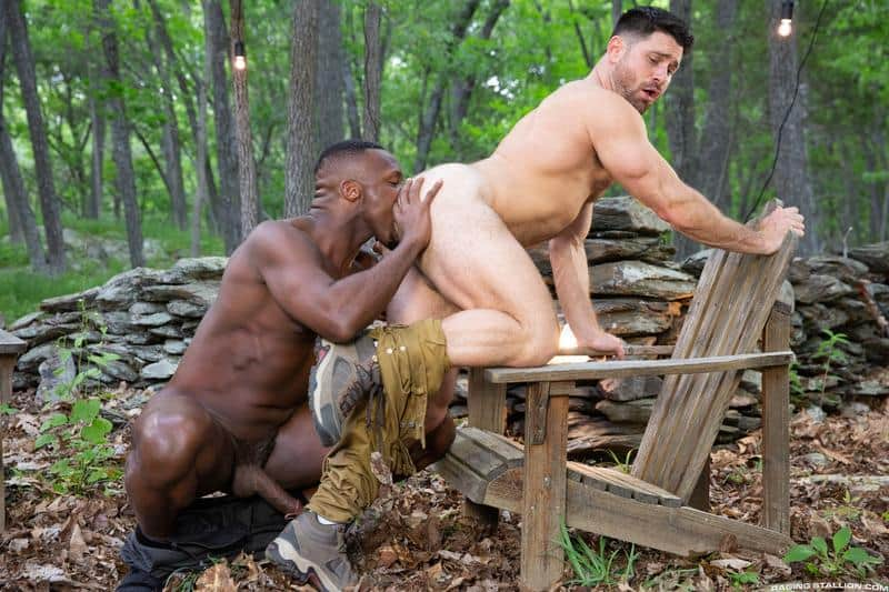 Horny muscle dude Beau Butler hairy asshole fucked Andre Donovan huge black cock 9 gay porn pics - Horny muscle dude Beau Butler's hairy asshole fucked by Andre Donovan's huge black cock