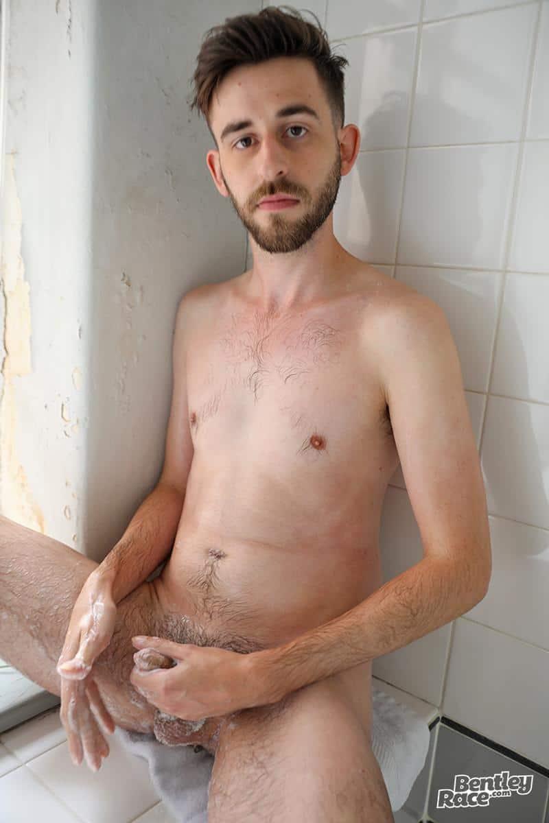 Hottie young Aussie boy Eddie Archer strips naked jerks off shower spraying jizz 10 gay porn pics - Hottie young Aussie boy Eddie Archer's strips naked and jerks off in the shower spraying jizz all over